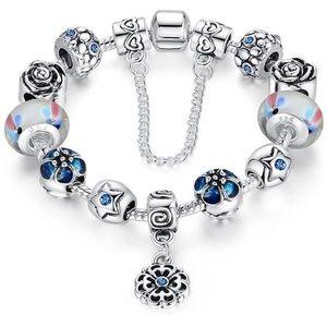 Enchanted Garden Charm Bracelet